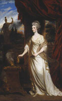Joshua Reynolds - Lady Charlotte Hill, Countess Talbot
