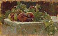 Frederic Leighton Still Life Study for 'Clytie'