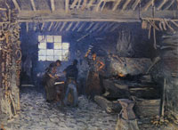 Alfred Sisley The Forge at Marly-le-Roi (Yvelines)