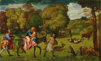 Titian Flight into Egypt