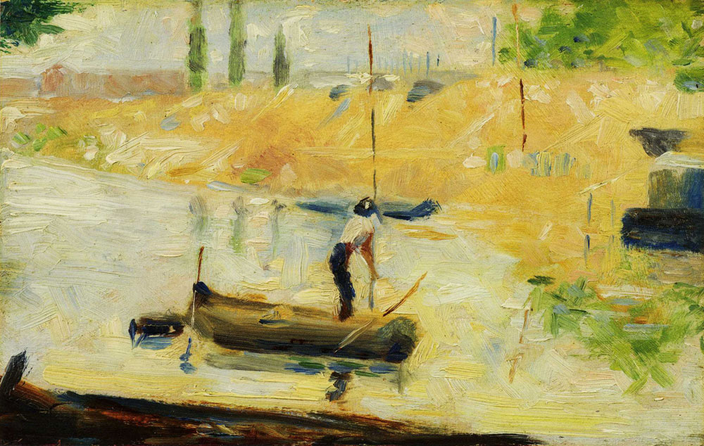 Georges Seurat - Man in a Boat