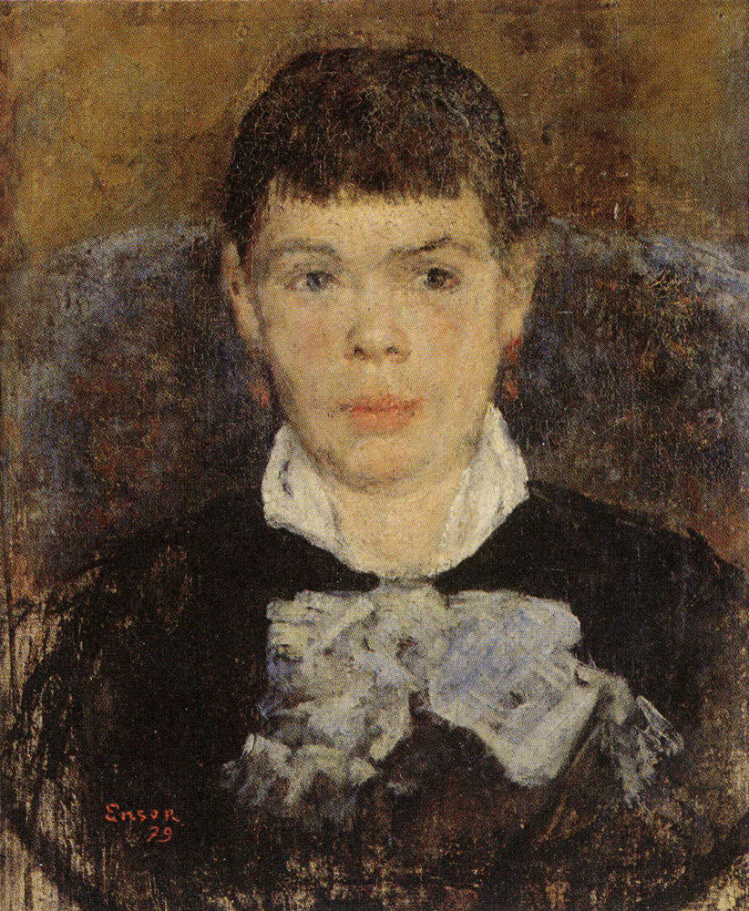 James Ensor - Girl with Upturned Nose