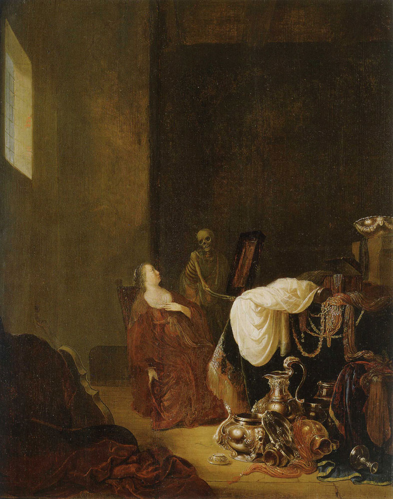 Willem de Poorter - Vanitas Allegory