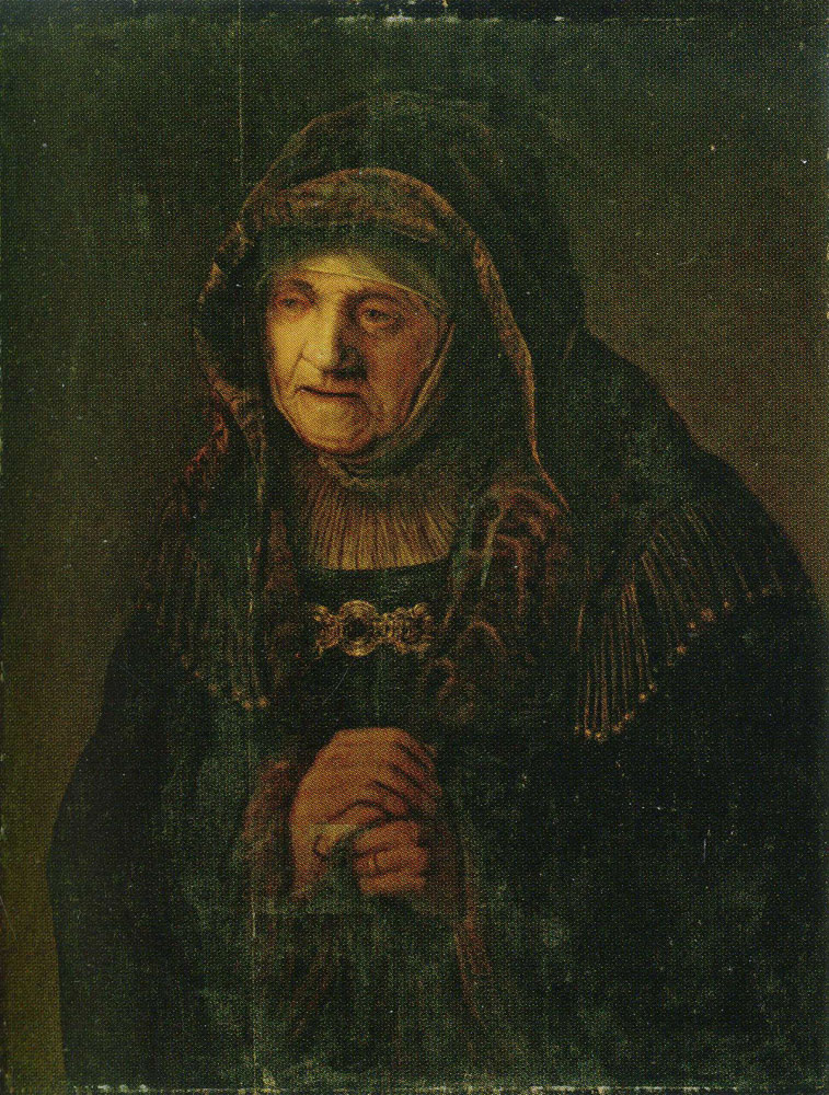 Copy after Rembrandt - The Prophetess Hannah
