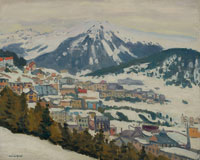 Albert Marquet - Davos in the Snow