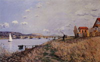 Alfred Sisley The Bridge at Argenteuil