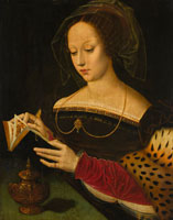 Ambrosius Benson - Mary Magdalene Reading
