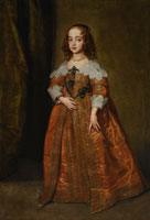 Anthony van Dyck and Studio - Portrait of Mary, Princess Royal and Princess of Orange