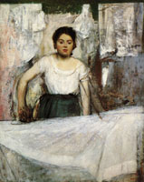 Edgar Degas The Ironer