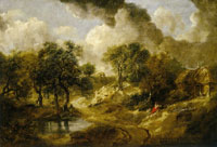Thomas Gainsborough Landscape near Sudbury, Suffolk