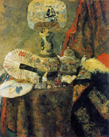 James Ensor Chinoiseries, Fans and Fabrics