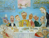 James Ensor - The Comical Meal
