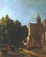 John Constable The Church Porch, East Bergholt