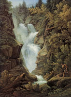Joseph Anton Koch Fall near Berne