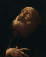 Attributed to Giovanni Battista Piazzetta A saint