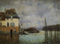 Alfred Sisley The Flood at Port Marly