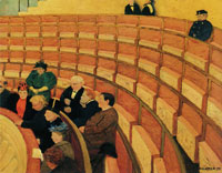 Felix Vallotton The Third Gallery at the Théâtre du Chatelot