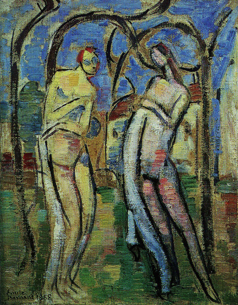 Emile Bernard - Adam and Eve