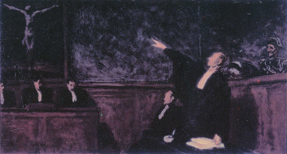 Honoré Daumier - The Free Pardon