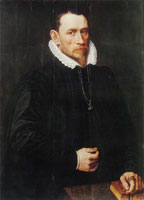 Adriaen Thomasz. Key Portrait of a Man, Aged 42