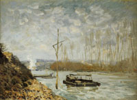 Alfred Sisley The Seine at Marly
