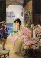 Lawrence Alma-Tadema Watching and Waiting