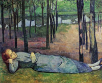Emile Bernard Madeleine in the Bois d'Amour