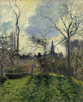 Camille Pissarro The Bell Tower of Bazincourt