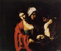 Caravaggio Salome with the Head of John the Baptist