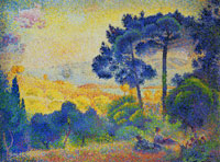 Henri-Edmond Cross Landscape in Provence