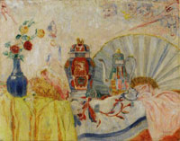 James Ensor Chinoiseries, Seashells and Masks