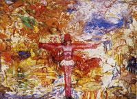 James Ensor Christ in Agony