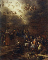 Jan Steen Adoration of the Shepherds