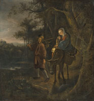 Jan Steen The Flight into Egypt