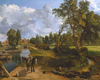 John Constable Flatford Mill ('Scene on a Navigable River')