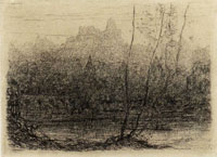 Matthijs Maris The Enchanted Castle