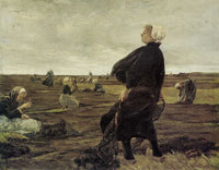 Max Liebermann The Net Menders