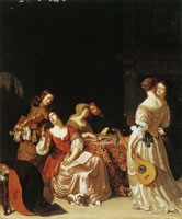 Frans van Mieris Musical Company of Gentlemen and Ladies