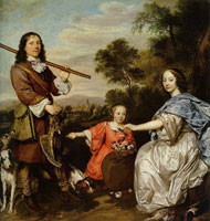Jan Mijtens Matthijs Pompe van Slingelandt and his Family