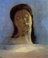 Odilon Redon - With Closed Eyes