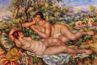 Pierre-Auguste Renoir The Bathers