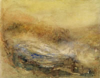 J.M.W. Turner The Falls of the Rhine at Schaffhausen