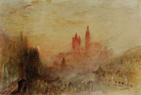 J.M.W. Turner Lausanne: Sunset