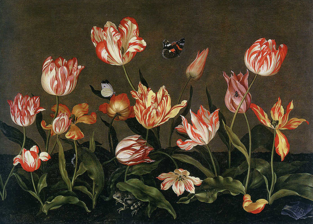 Johannes Bosschaert - Still Life with Tulips