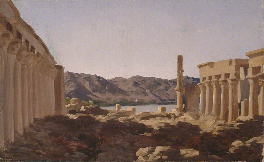 Frederic Leighton - The Temple of Philae