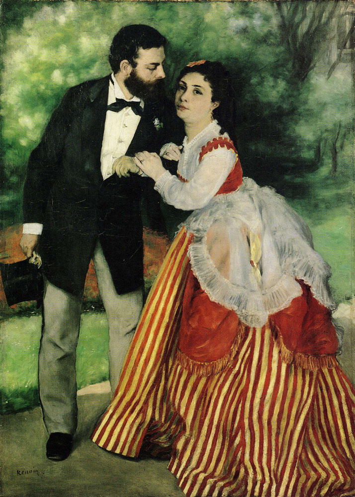 Pierre-Auguste Renoir - The Couple