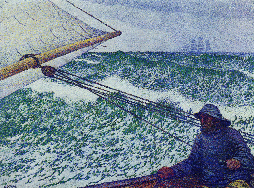 Theo van Rysselberghe - Man at the Helm
