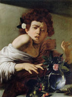 Caravaggio Boy Bitten by a Lizard