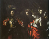 Caravaggio The Martyrdom of Saint Ursula