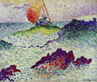 Henri-Edmond Cross The Shipwreck